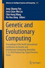 Genetic and Evolutionary Computing (Advances in Intelligent Systems and Computing, nr. 536)