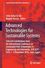 Advanced Technologies for Sustainable Systems (Lecture Notes in Networks and Systems, nr. 4)