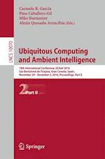 Ubiquitous Computing and Ambient Intelligence (Lecture Notes in Computer Science, nr. 10070)