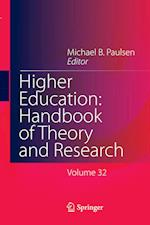 Higher Education: Handbook of Theory and Research : Published under the Sponsorship of the Association for Institutional Research (AIR) and the Associ