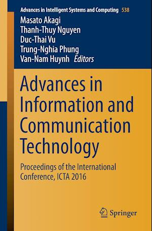 Bog, hæftet Advances in Information and Communication Technology : Proceedings of the International Conference, ICTA 2016