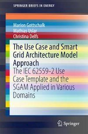 Bog, hæftet The Use Case and Smart Grid Architecture Model Approach : The IEC 62559-2 Use Case Template and the SGAM applied in various domains af Mathias Uslar, Christina Delfs, Marion Gottschalk