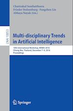 Multi-Disciplinary Trends in Artificial Intelligence (Lecture Notes in Computer Science, nr. 10053)