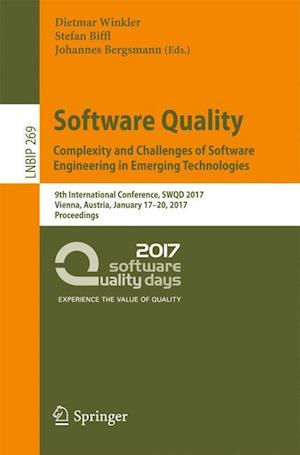 Bog, paperback Software Quality: Complexity and Challenges of Software Engineering in Emerging Technologies af Dietmar Winkler