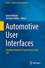 Automotive User Interfaces