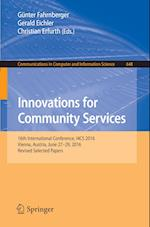 Innovations for Community Services (Communications in Computer and Information Science, nr. 648)