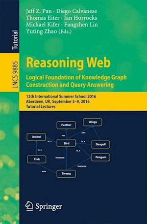 Bog, paperback Reasoning Web: Logical Foundation of Knowledge Graph Construction and Query Answering af Jeff Z. Pan