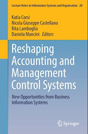 Bog, paperback Reshaping Accounting and Management Control Systems af Katia Corsi
