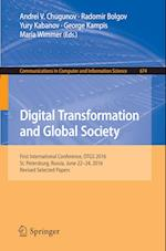 Digital Transformation and Global Society (Communications in Computer and Information Science, nr. 674)