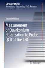 Measurement of Quarkonium Polarization to Probe QCD at the LHC (Springer Theses)