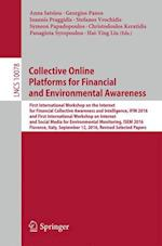 Collective Online Platforms for Financial and Environmental Awareness (Lecture Notes in Computer Science, nr. 10078)