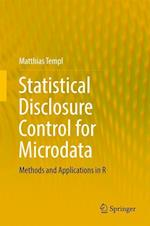 Statistical Disclosure Control for Microdata