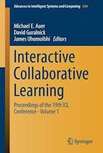 Interactive Collaborative Learning : Proceedings of the 19th ICL Conference - Volume 1
