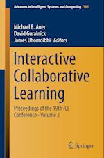 Interactive Collaborative Learning : Proceedings of the 19th ICL Conference - Volume 2