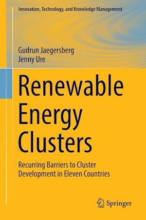 Bog, hardback Renewable Energy Clusters : Recurring Barriers to Cluster Development in Eleven Countries af Jenny Ure, Gudrun Jaegersberg