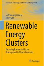 Renewable Energy Clusters af Jenny Ure, Gudrun Jaegersberg