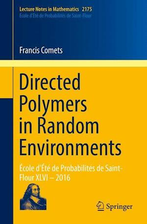 Bog, paperback Directed Polymers in Random Environments af Francis Comets