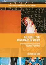 Quality of Democracy in Africa af Jonathan Van Eerd