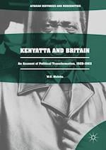 Kenyatta and Britain (African Histories and Modernities)