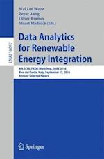 Data Analytics for Renewable Energy Integration (Lecture Notes in Computer Science, nr. 1009)