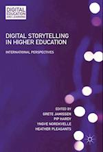 Digital Storytelling in Higher Education : International Perspectives