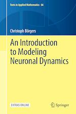 An Introduction to Modeling Neuronal Dynamics (TEXTS IN APPLIED MATHEMATICS, nr. 66)