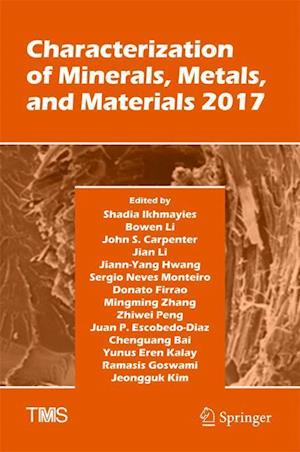 Bog, hardback Characterization of Minerals, Metals, and Materials 2017