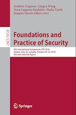 Foundations and Practice of Security (Lecture Notes in Computer Science, nr. 1012)