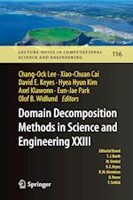 Domain Decomposition Methods in Science and Engineering XXIII