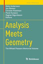 Analysis Meets Geometry : The Mikael Passare Memorial Volume