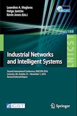 Industrial Networks and Intelligent Systems (Lecture Notes of the Institute for Computer Sciences, Social Informatics and Telecommunications Engineering, nr. 188)