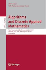 Algorithms and Discrete Applied Mathematics : Third International Conference, CALDAM 2017, Sancoale, Goa, India, February 16-18, 2017, Proceedings