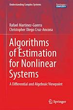 Algorithms of Estimation for Nonlinear Systems : A Differential and Algebraic Viewpoint