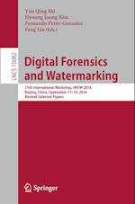 Digital Forensics and Watermarking (Lecture Notes in Computer Science, nr. 1008)