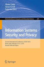 Information Systems Security and Privacy : Second International Conference, ICISSP 2016, Rome, Italy, February 19-21, 2016, Revised Selected Papers