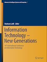 Information Technology - New Generations (Advances in Intelligent Systems and Computing, nr. 558)