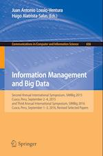 Information Management and Big Data : Second Annual International Symposium, SIMBig 2015, Cusco, Peru, September 2-4, 2015, and Third Annual Internati