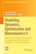 Modeling, Dynamics, Optimization and Bioeconomics II (Springer Proceedings in Mathematics and Statistics, nr. 195)