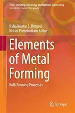 Elements of Metal Forming
