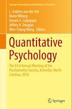 Quantitative Psychology (Springer Proceedings in Mathematics & Statistics)