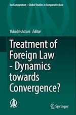 Treatment of Foreign Law - Dynamics towards Convergence? (Ius Comparatum Global Studies in Comparative Law)