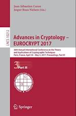 Advances in Cryptology - EUROCRYPT 2017 : 36th Annual International Conference on the Theory and Applications of Cryptographic Techniques, Paris, Fran