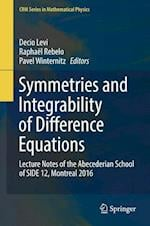 Symmetries and Integrability of Difference Equations : Lecture Notes of the Abecederian School of SIDE 12, Montreal 2016