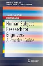 Human Subject Research for Engineers (Springerbriefs in Applied Sciences and Technology)