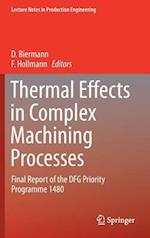 Thermal Effects in Complex Machining Processes (Lecture Notes in Production Engineering)
