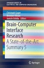Brain-Computer Interface Research : A State-of-the-Art Summary 5