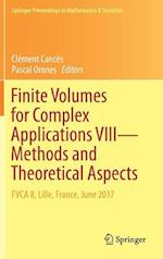 Finite Volumes for Complex Applications VIII - Methods and Theoretical Aspects : FVCA 8, Lille, France, June 2017
