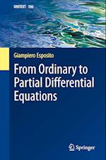 From Ordinary to Partial Differential Equations (Unitext, nr. 106)