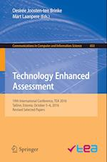 Technology Enhanced Assessment : 19th International Conference, TEA 2016, Tallinn, Estonia, October 5-6, 2016, Revised Selected Papers