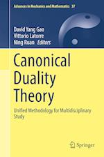 Canonical Duality Theory (Advances in Mechanics And Mathematics, nr. 37)